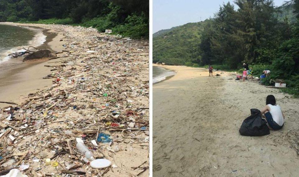 «Trashtag»challenge o como convertir una acción ecológica en reto viral