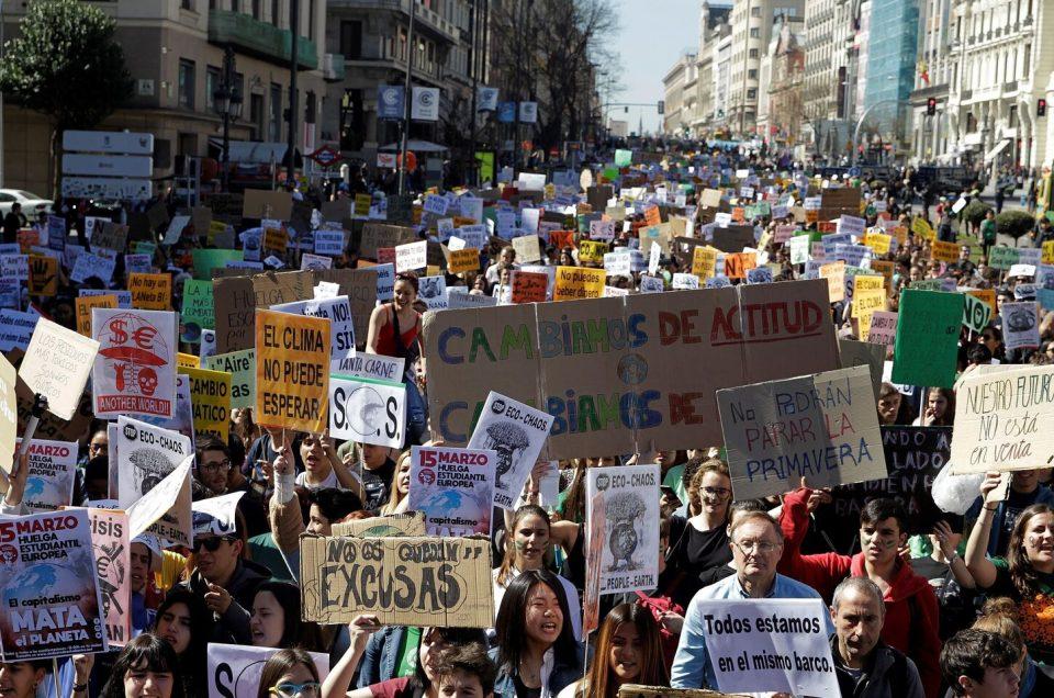 El movimiento que ha contribuido al auge de los partidos ecologistas en Europa: Fridays for future