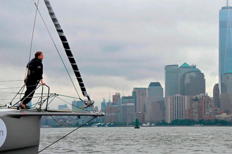 El icono mundial del activismo medioambiental en Nueva York: Greta Thumberg