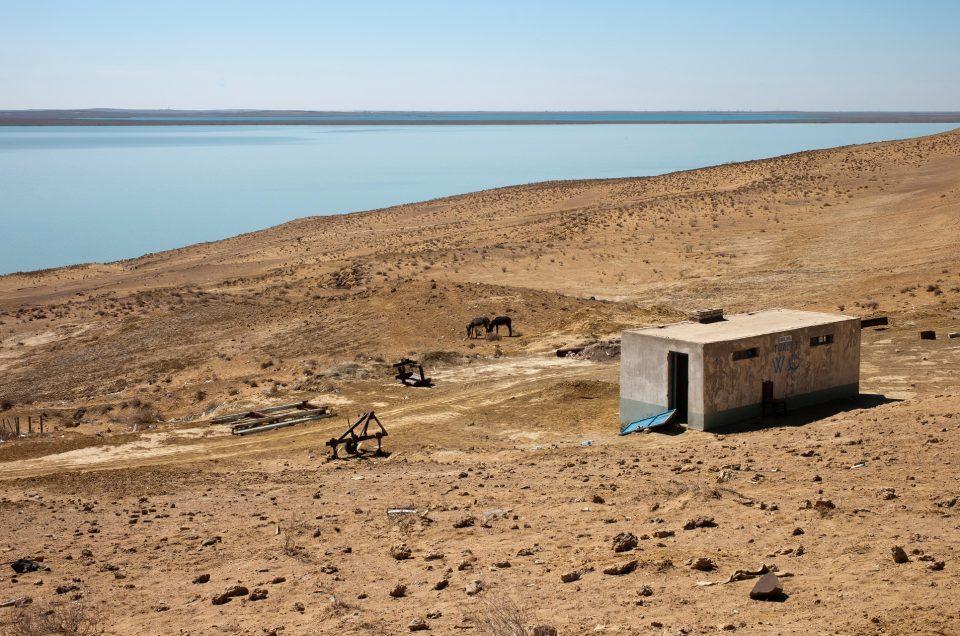 ¿Dónde está el mar Aral y el lago Chad?