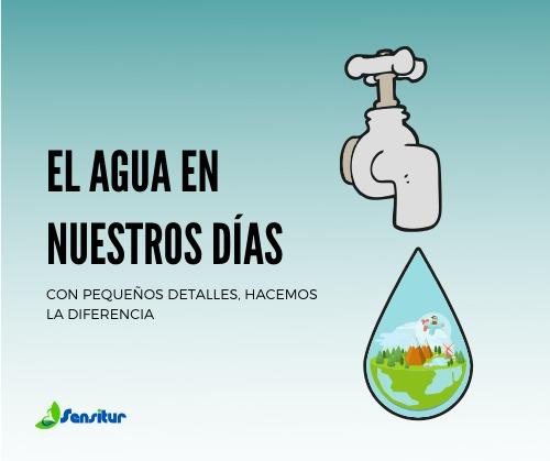 El agua en nuestros días