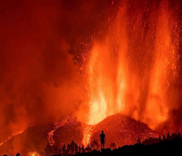 ¿Qué le sucede al ecosistema tras una erupción volcánica?